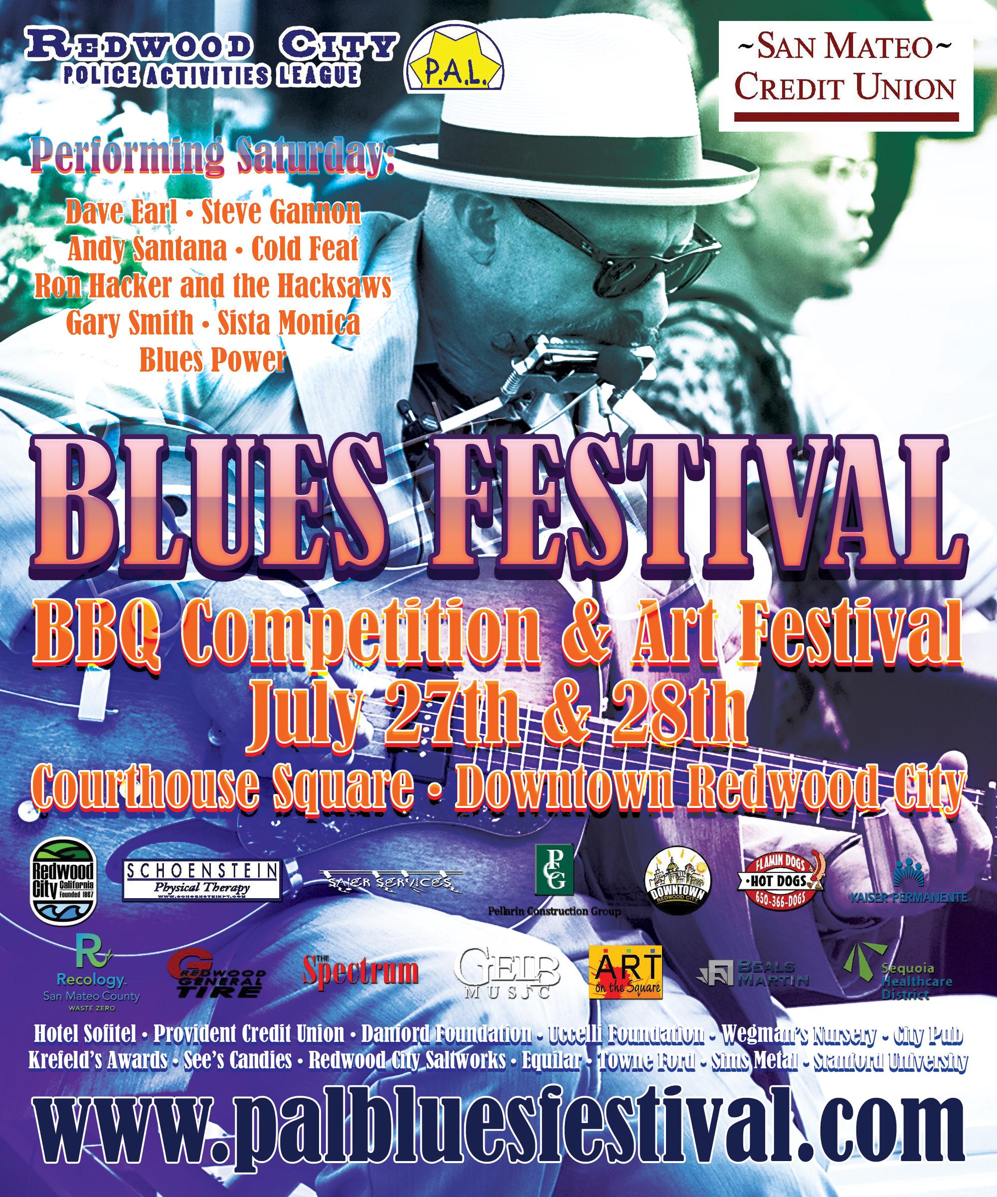 Redwood City Blues Fest