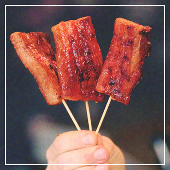 Maple Bacon on a Stick