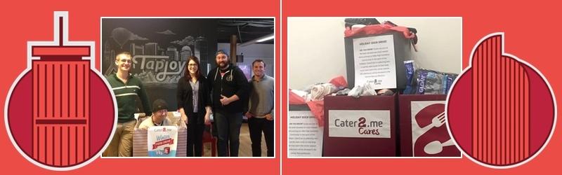 Cater2.me Cares Winter Food Drive: Boston & Denver
