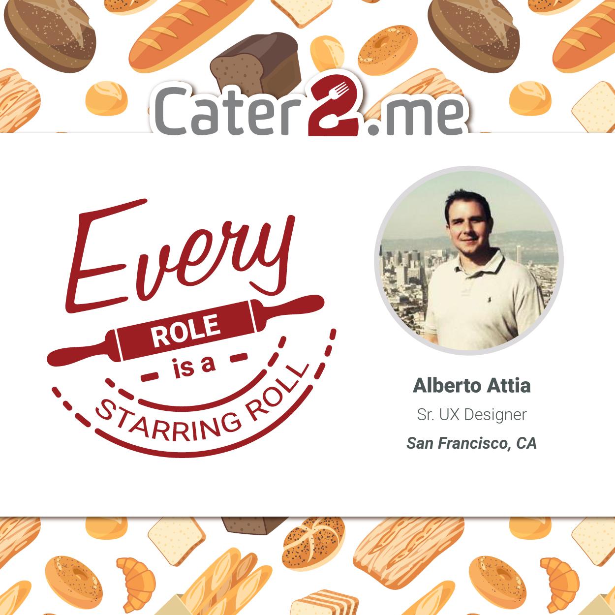 Cater2.me's Alberto Attia