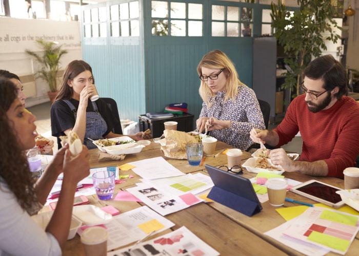 Design Agency Lunch
