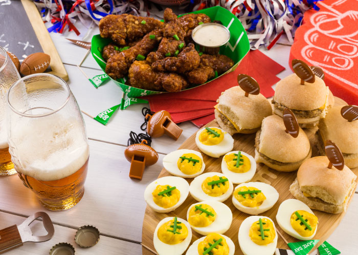 Celebrate Game Day with a Catered Party