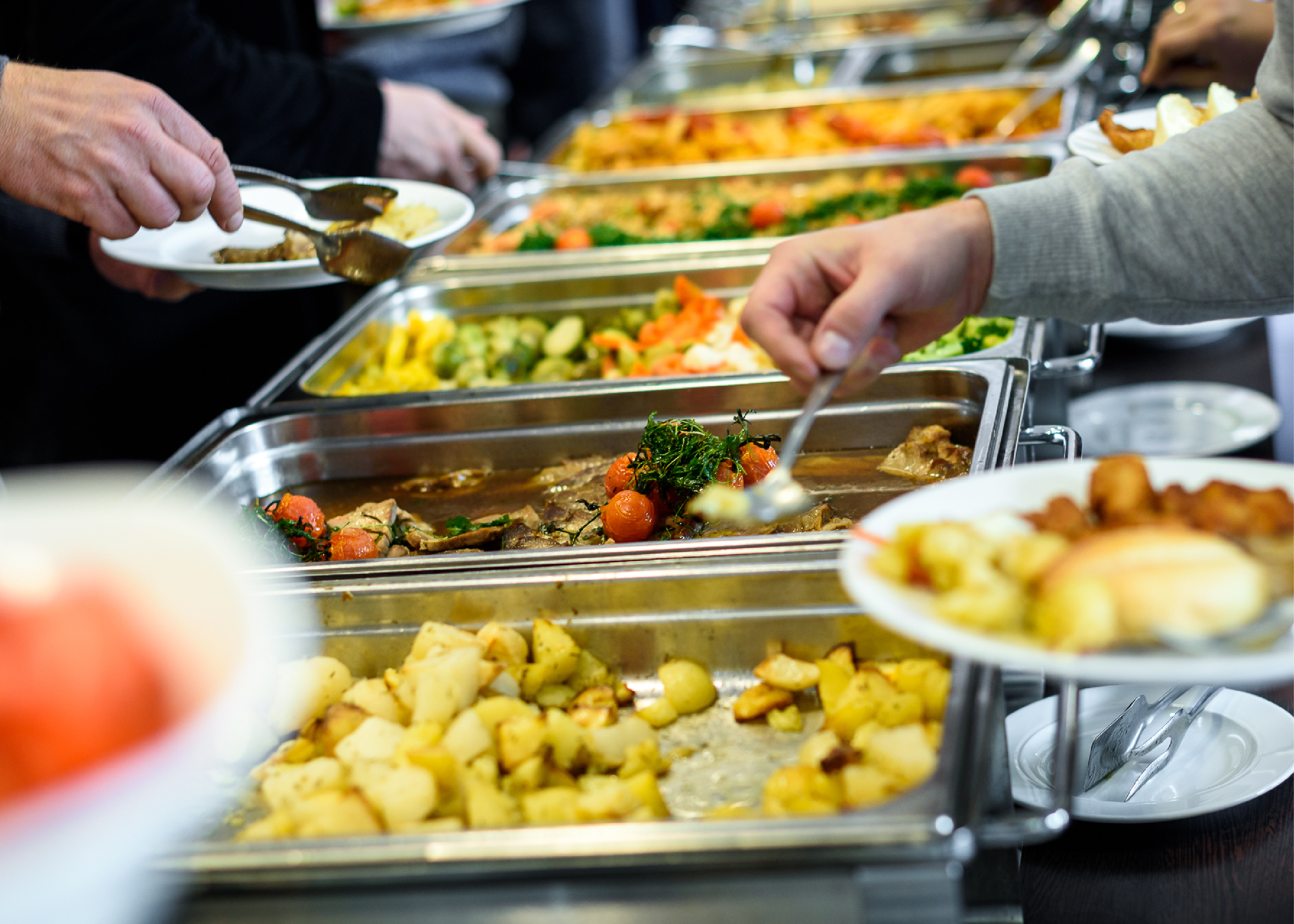 Catered Meals Keep Teams Productive