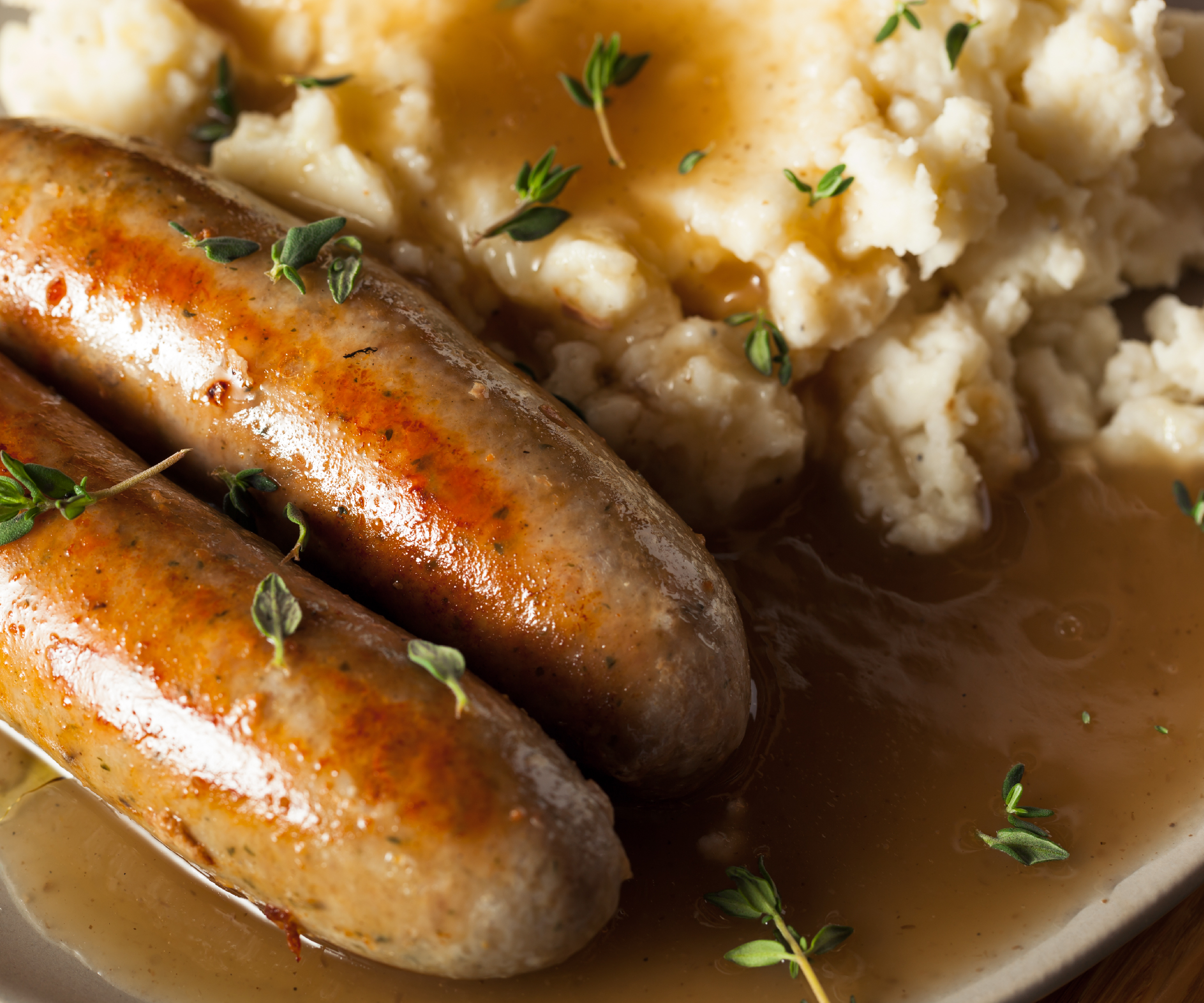 Celebrate St. Patrick's Day with Bangers and Mash