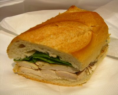 Turkey Sandwich for Lunch
