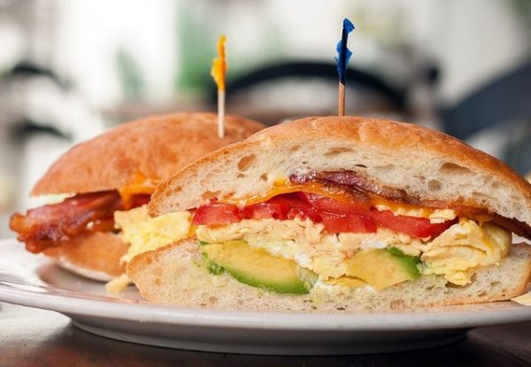 Office Breakfast Sandwich