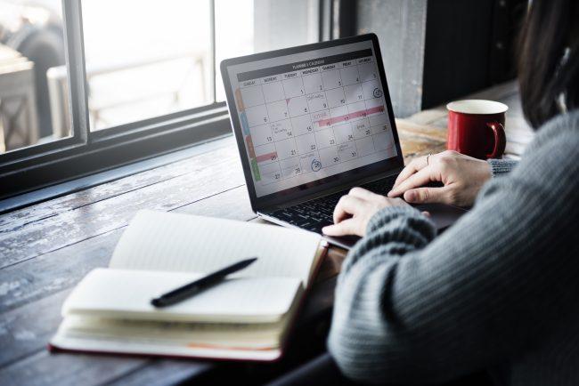 office laptop