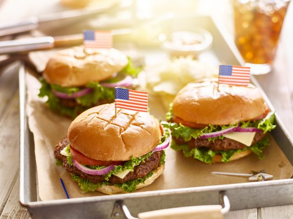 Burgers for 4th of July