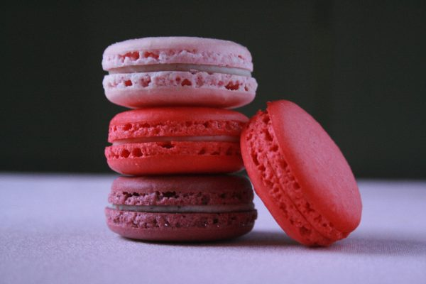 Red Macaroons for 4th of July