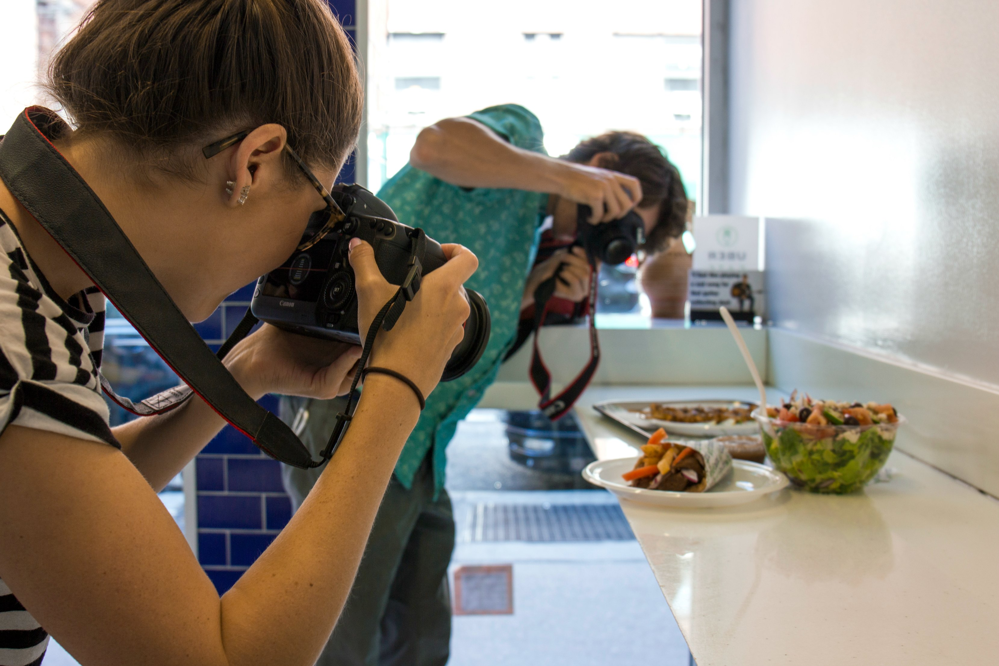 Summer Interns - Food Photography