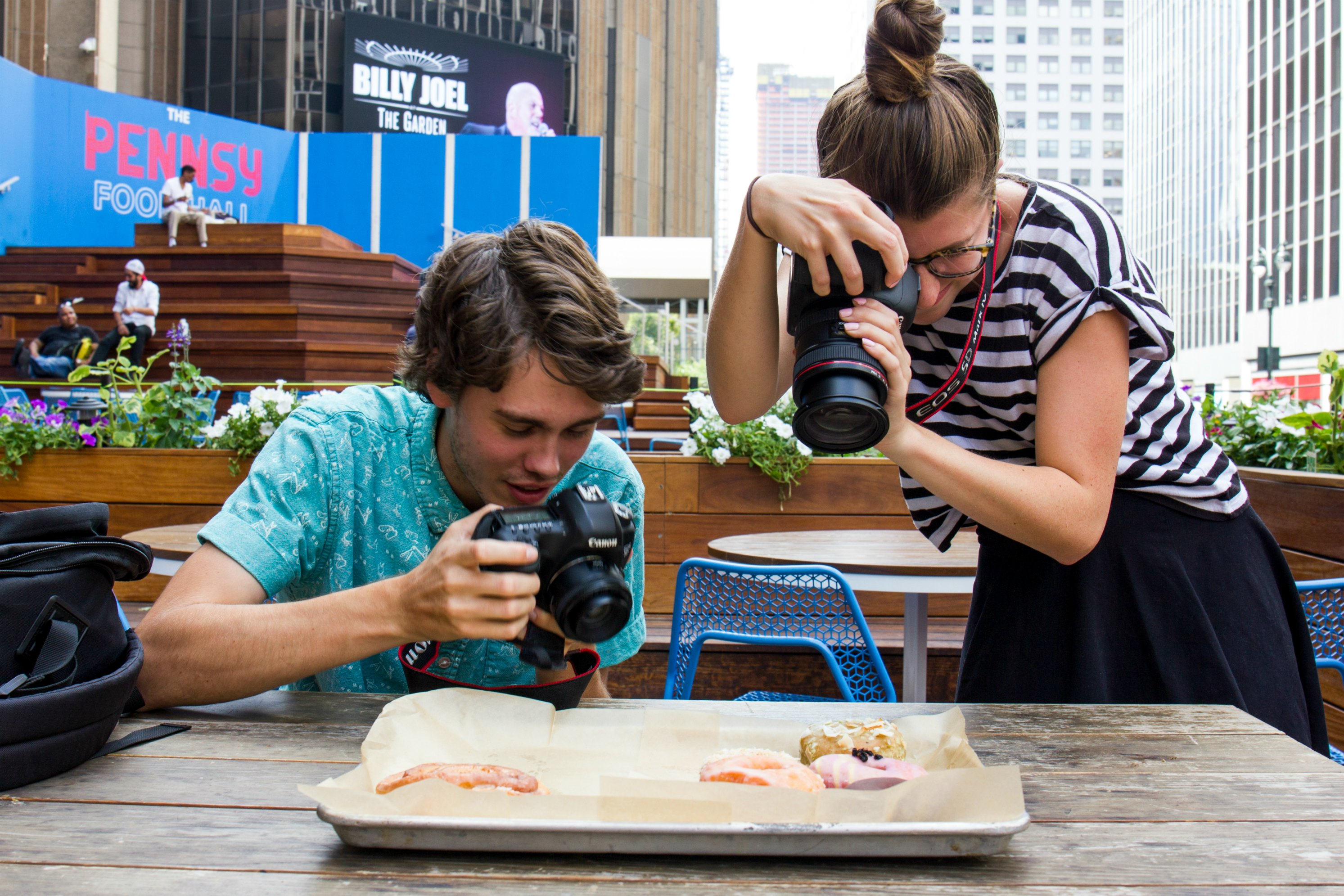 Summer Interns - Food Photo Shoot