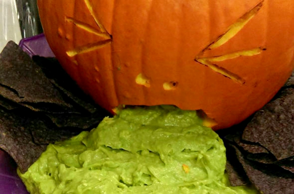 Sickly Pumpkin - Office Halloween
