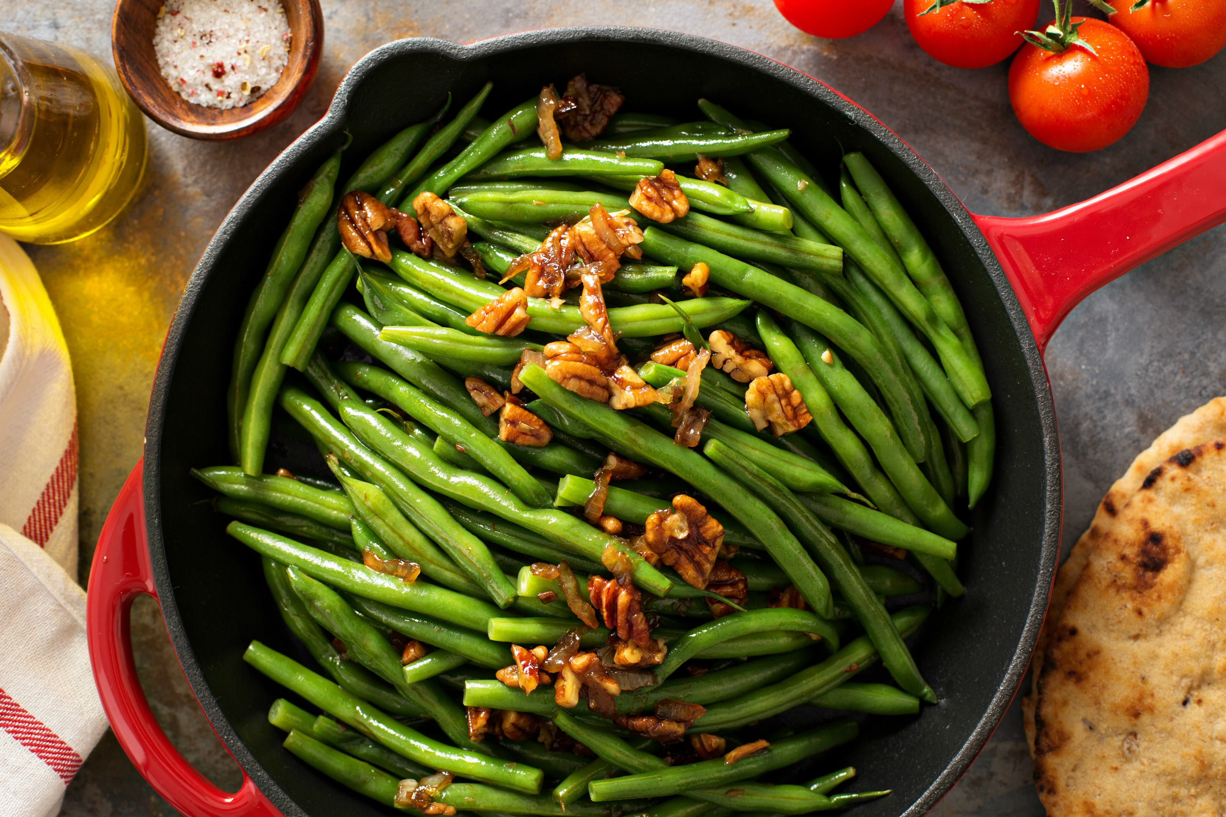 Green Beans - Lighter Holiday Menu