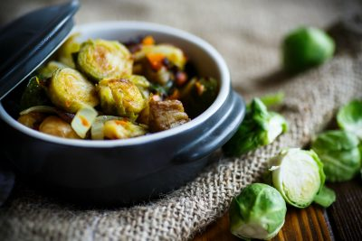 Brussels Sprouts - Lighter Holiday Menu Options