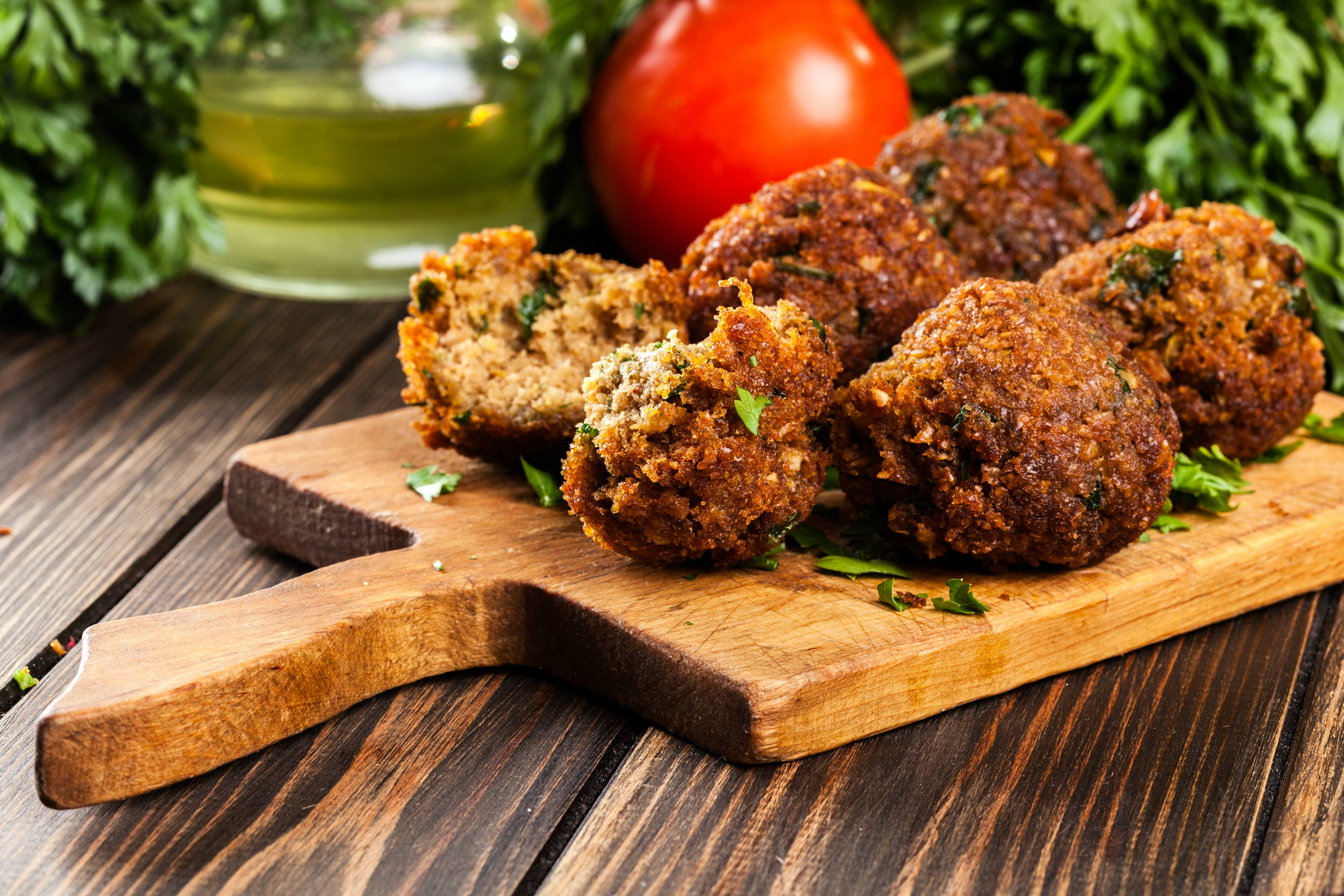 Falafel - Football Playoffs Menu Ideas