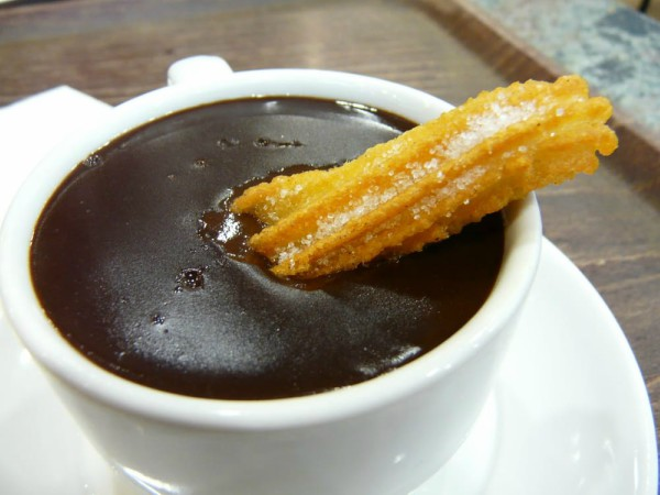 Office Cinco de Mayo - What to Eat - Nico's Tacos SF - Bavarian Cream Filled Churros